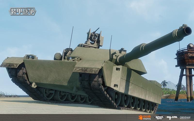 游戏中M1A2虽然朴实但不容小觑